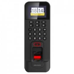Terminal kontroli dostępu Hikvision DS-K1T804EF z czytnikiem kart i linii papilarnych